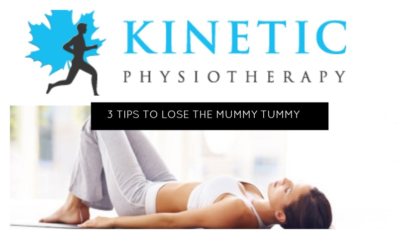 3 Tips to Stay Fit and Lose your Mummy Tummy