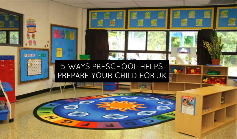 Five Ways That Co-Op Nursery School Prepares Your Child for JK