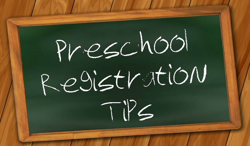 Tips for Preschool Registration